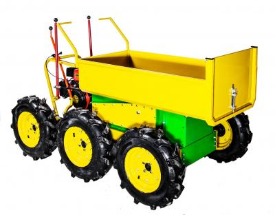 Ιδανικό για όλες τις εργασίες (αγροτικές , οικοδομικές κ.ά) ήρθε για να μείνει...  Κίνηση και στους 6 τροχούς. Στρίβει 360ο.  Είναι πολύ εύκολο στη χρήση του , ευέλικτο και κατάλληλο για δύσβατα εδάφη όπως πετρώδης και αμμώδεις περιοχές και σκαλοπάτια.  Έ