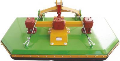 Καταστροφέας(χλοοκοπτικό) χόρτων με αλυσίδες Προσαρμόζεται σε όλους τους τύπους των ελκυστήρων Διαστάσεις που παράγεται το μηχάνημα από 100cm μέχρι 220cm πλάτος εργασίας Πρωτοπορία από την επιχείρηση μας Το στέλεχος στο πάνω μέρος του μηχανήματος είναι επ