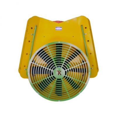 Τουρμπίνα ψεκασμού Στιβαρό πλαίσιο Βυτίο 500 λίτρων (πλαστικό) Καπάκι με βραχίονα Φτερωτή Φ80 με πλαστικά πτερύγια Ιδανικό για αμπελουργικές και δενδροκομικές καλλιέργειες Αντλία υψηλής πίεσης Μετάδοση κίνησης με ιμάντες Ενισχυμένο σασί δικής μας κατασκευ